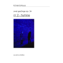 Zwei Gesänge op. 34, n° 2 – Hymne : Édition pour effectif réduit / Richard Strauss | Strauss, Richard (1864-1949). Compositeur
