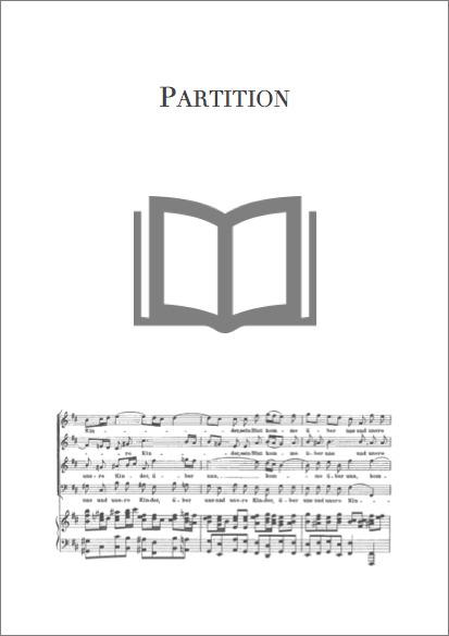 Five Slovak Floksongs : for 4-part male chorus / Béla Bartók | Bartók, Béla (1881-1945). Compositeur
